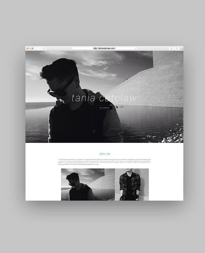 Tania Catclaw Website