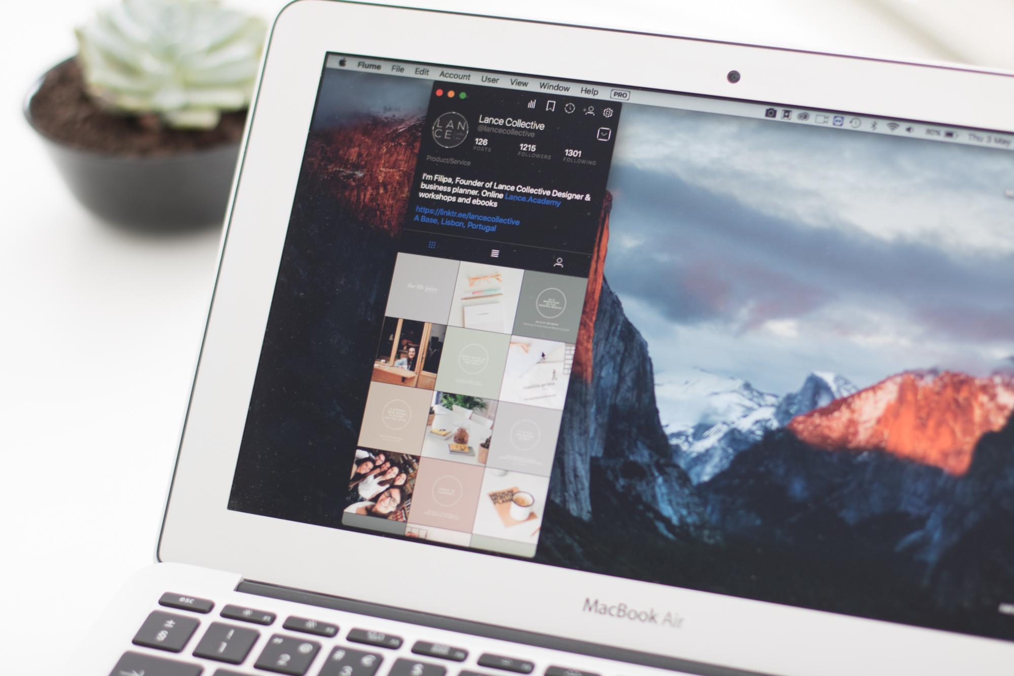 Aplicações para gerir instagram no computador